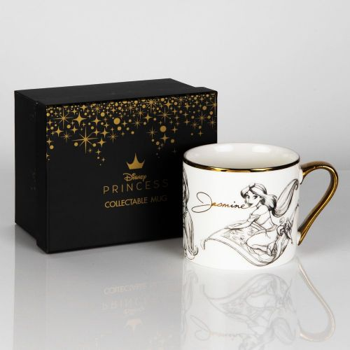 Disney Jasmine from Aladdin New Bone China Collectable Contemporary Mug in Gift Box - JASMINE